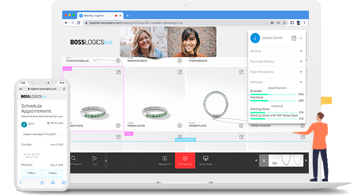 BOSS Logics Live℠ for Retailers